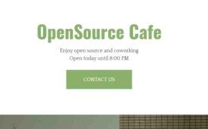 シェアオフィス opensourcecafe